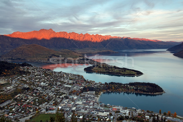Cityscape of queenstown  Stock photo © vichie81