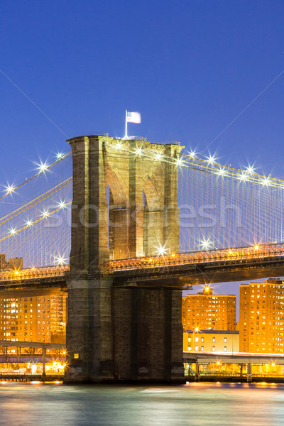 Brooklyn bridge NYC Stock photo © vichie81