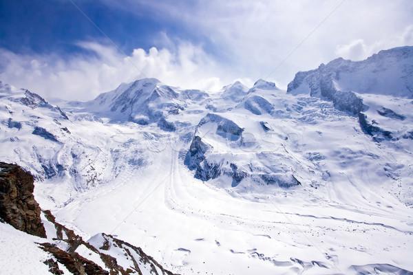 The Swiss Alp in Switzerland Stock photo © vichie81