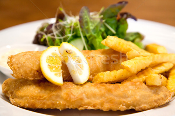 fish and chips Stock photo © vichie81