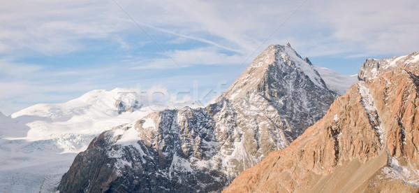 Mountain Cook Panorama Stock photo © vichie81