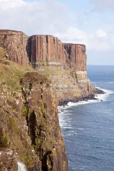 Kilt Rock Cliff Stock photo © vichie81