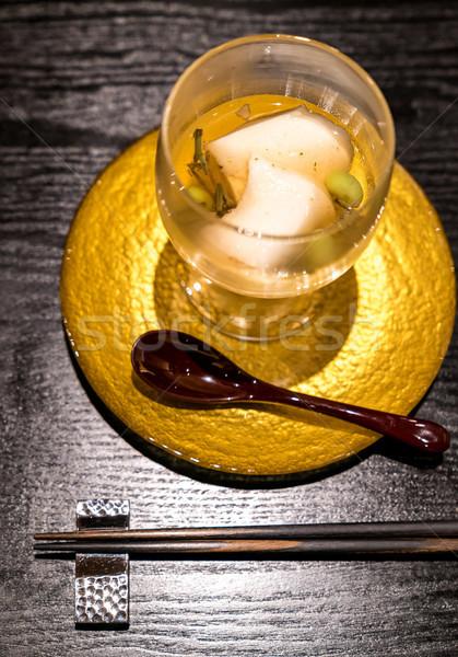 кремом сыра Тофу Японский фон лет Сток-фото © vichie81