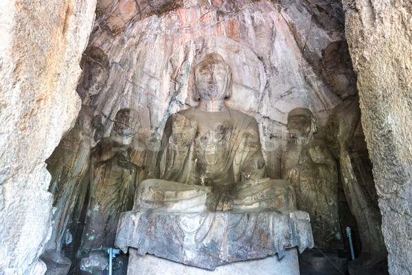 Longmen Grottoes Luayang China Stock photo © vichie81