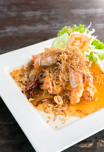 Deep fried shrimp Stock photo © vichie81