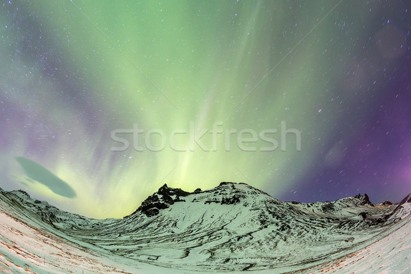 Northern Lights Aurora Stock photo © vichie81