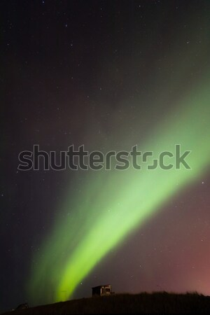 The Northern Light Aurora borealis Iceland Stock photo © vichie81