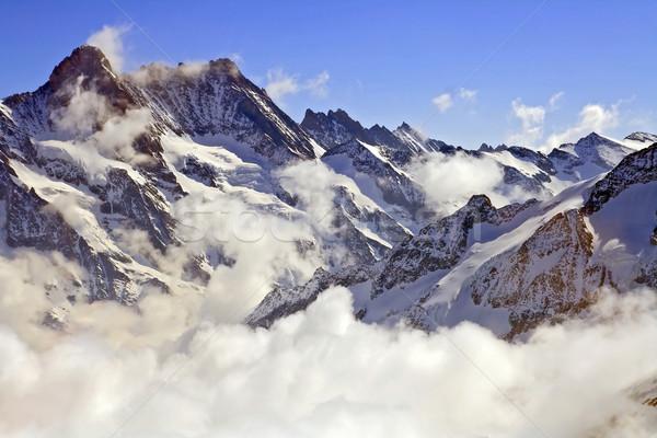 Jungfraujoch Swiss alps Stock photo © vichie81