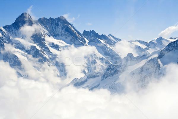Jungfraujoch Alps mountain landscape Stock photo © vichie81