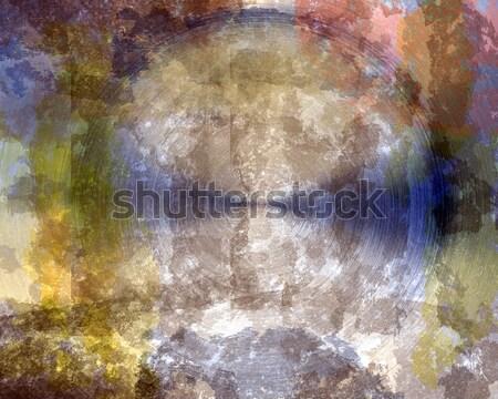 グランジ 金属の質感 壁 業界 産業 ストックフォト © vichie81