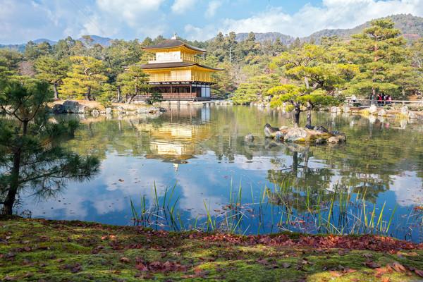 Kinkakuji Temple in Kyoto Japan Stock photo © vichie81