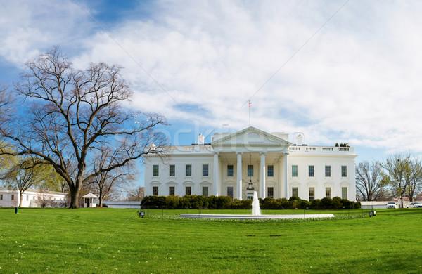 白い家 ワシントンDC 米国 オフィス 家 市 ストックフォト © vichie81