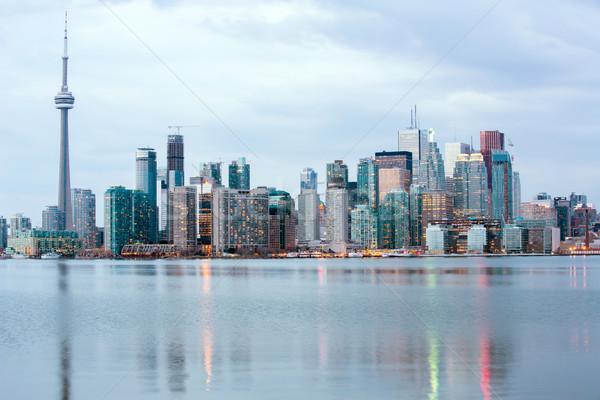 Toronto skylline Stock photo © vichie81