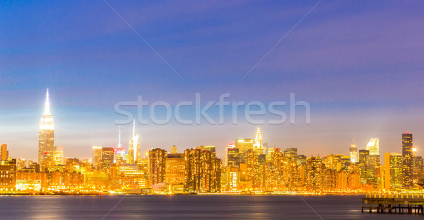 Newyork mid town  Stock photo © vichie81