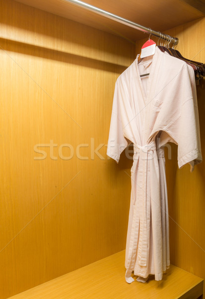 white bathrobe Stock photo © vichie81