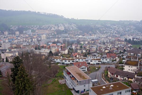Lucerne city Switzerland Stock photo © vichie81