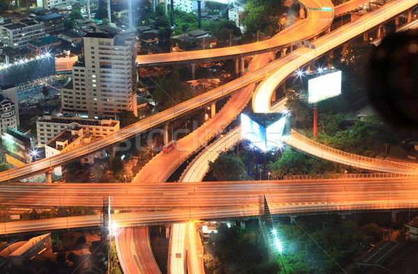 Bangkok Highway Cityscape Stock photo © vichie81