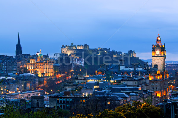 Edinburgh Scotland Cityscape Stock photo © vichie81