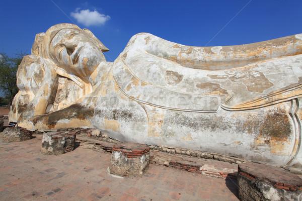 giant reclining buddha statue Stock photo © vichie81