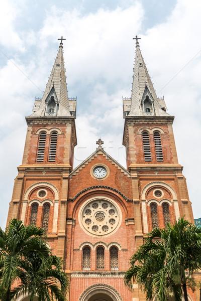 Notre-Dame Cathedral Viatnam Stock photo © vichie81