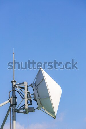 telecommunication satellite and radio transmitter Stock photo © vichie81