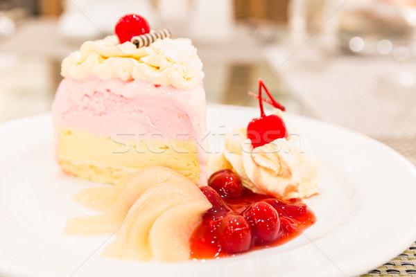 Ice cream cake Stock photo © vichie81