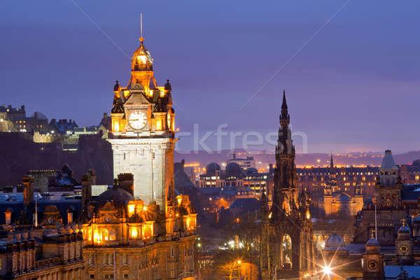 Edinburgh Stock photo © vichie81