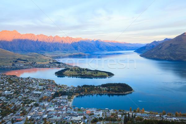 Queenstown New Zealand Stock photo © vichie81