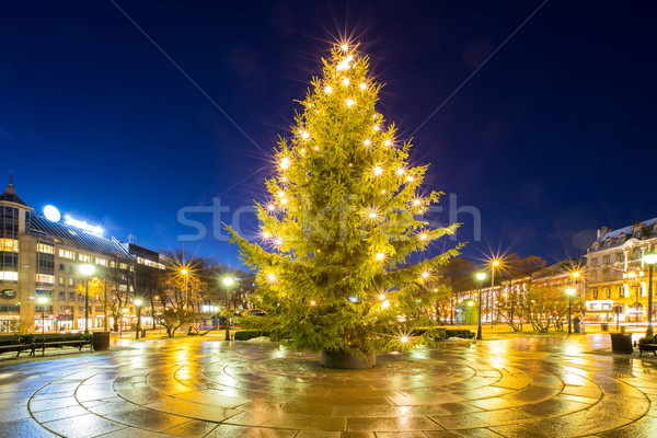 Christmas tree light Stock photo © vichie81
