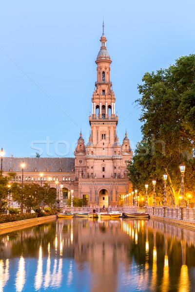 espana Plaza in Seville Stock photo © vichie81