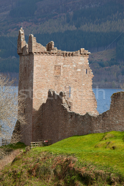 Foto stock: Castelo · escócia · ruínas · céu · edifício