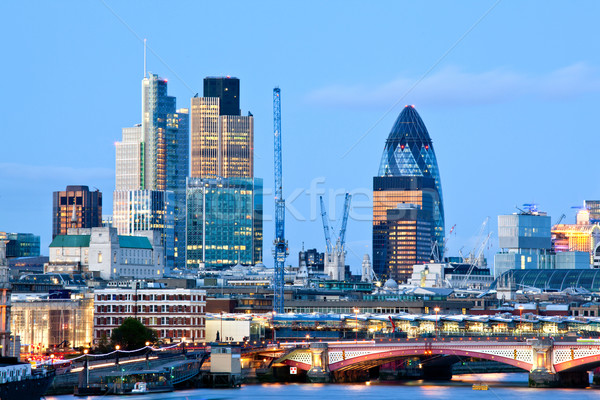 London Skylines Stock photo © vichie81