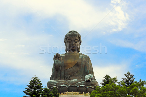 Giant Buddha Hong Kong Stock photo © vichie81