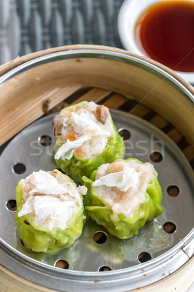 Chinese dim sum Shumai Stock photo © vichie81