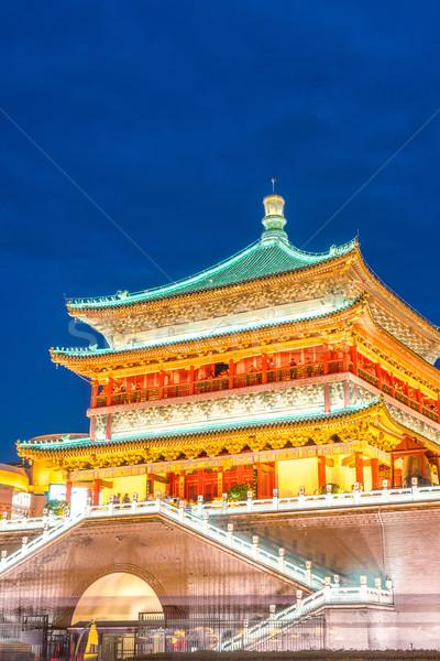 Stock photo: Xian bell tower