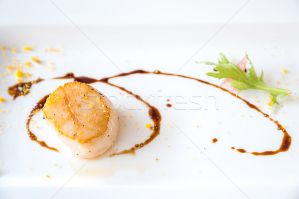 Grilled fried scallop Stock photo © vichie81