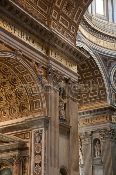 Сток-фото: Ватикан · интерьер · святой · базилика · Рим · Италия
