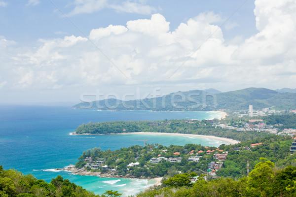 Kata beach Viewpoint Phulet Thailand Stock photo © vichie81