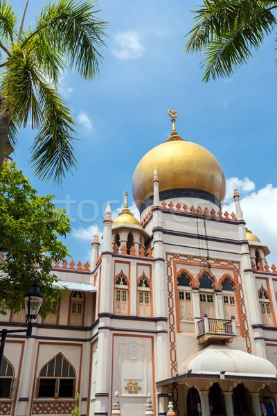 Singapore masjid Sultan Stock photo © vichie81