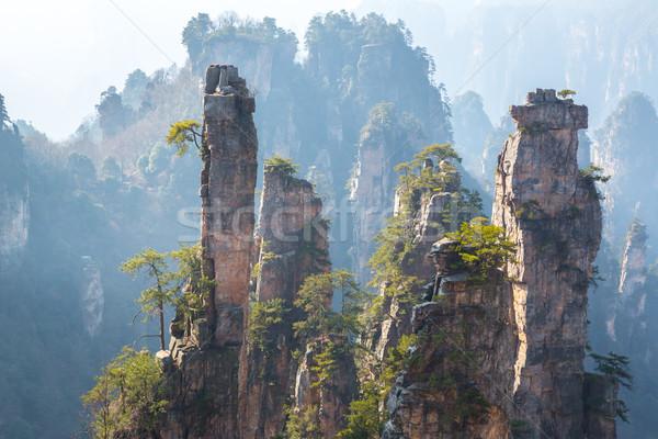 Zhangjiajie National forest park Stock photo © vichie81