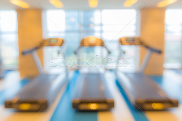 Fitness club blur background Stock photo © vichie81
