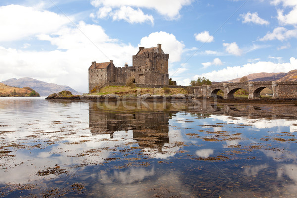 Stock photo: Eilean Donan Castle, Highland Scotland
