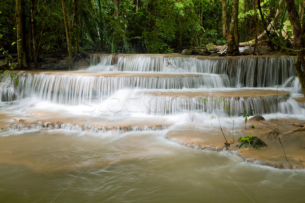 Beautiful Tropical Watefall Stock photo © vichie81