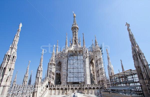 Milan Itália ver catedral Foto stock © vichie81
