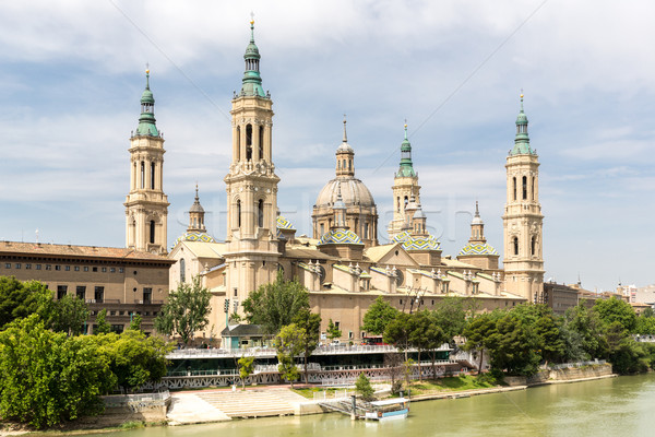 Zaragoza Basilica Cathedral Spain Stock photo © vichie81