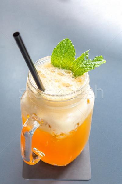 Ice mango tea Stock photo © vichie81