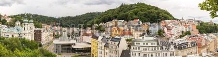 Karlovy Vary Czech Republic Stock photo © vichie81