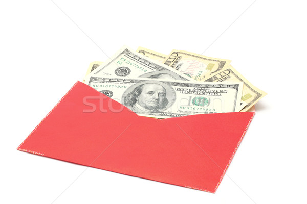 Money in Red Envelope Stock photo © vichie81