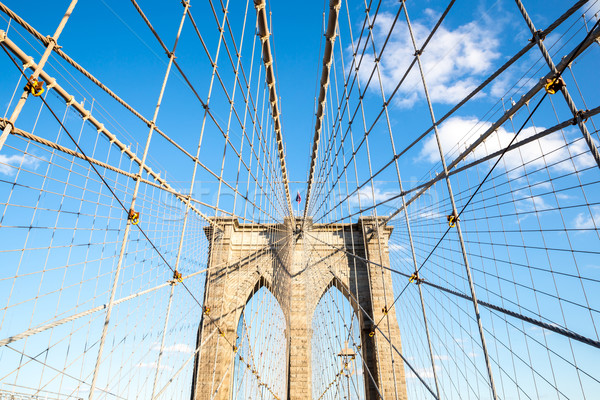 Brooklyn bridge Stock photo © vichie81