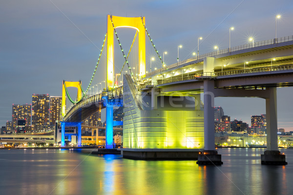 Rainbow bridge Tokyo Stock photo © vichie81